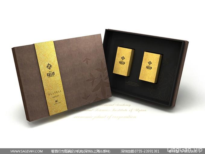 玛咖木盒包装设计 保健食品包装设计 手信礼盒包装设计