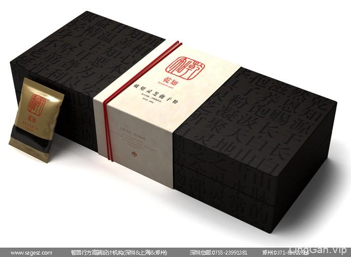 灵芝孢子粉包装设计 高档木盒包装设计 灵芝胶囊铁盒包装设计