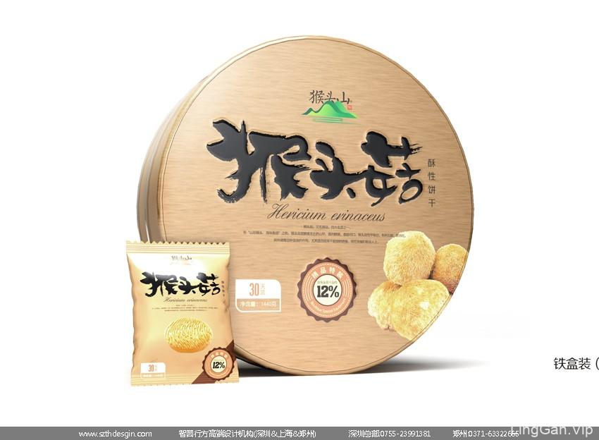 饼干铁盒包装设计 休闲食品包装设计 儿童饼干包装设计