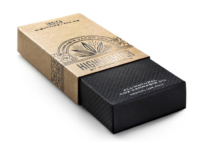国外Bloom Farms电子烟与手卷烟精美包装设计