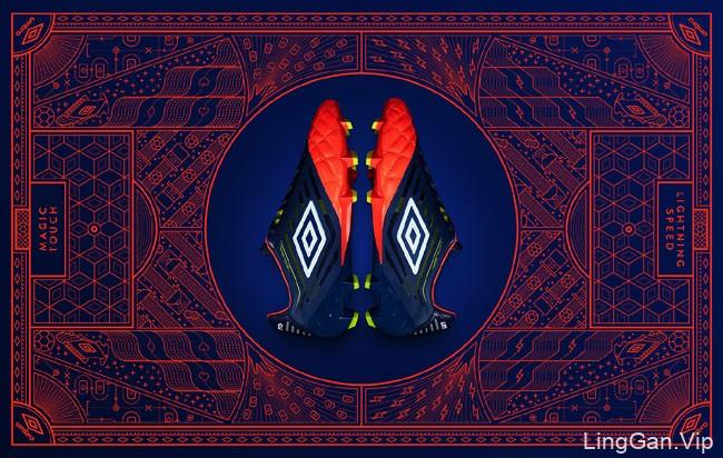 国外超酷的Medusae足球鞋包装设计
