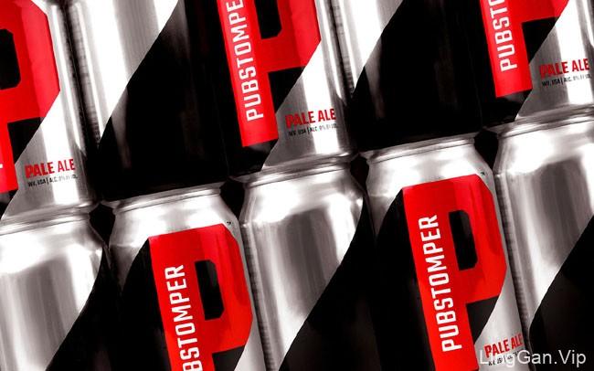 国外设计师Pubstomper啤酒创意包装设计