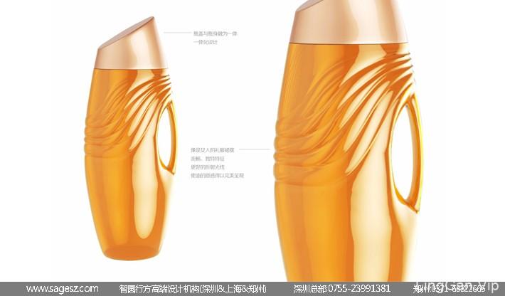 食用油瓶型设计 粮油瓶型设计 瓶型包装设计公司
