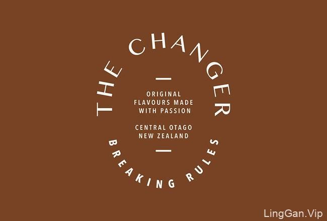国外The Changer葡萄酒糖浆精美包装设计