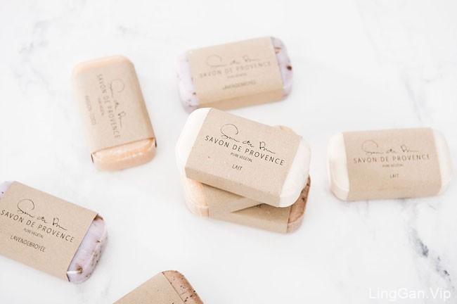 一款国外精美的Savon香皂包装设计作品