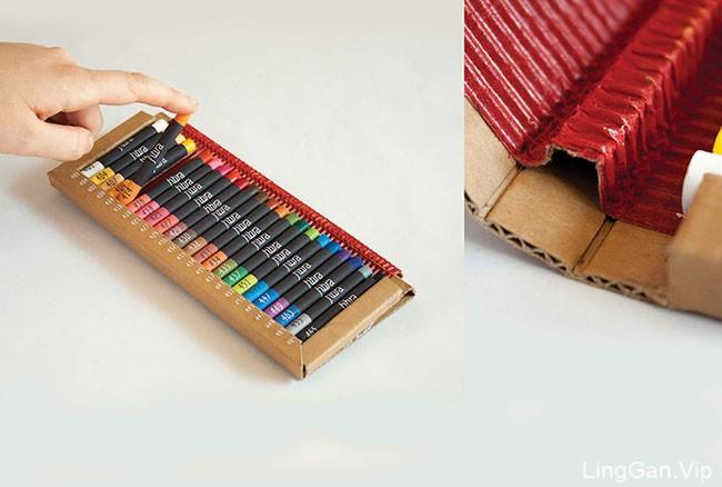 国外Fibra美术用品系列包装设计