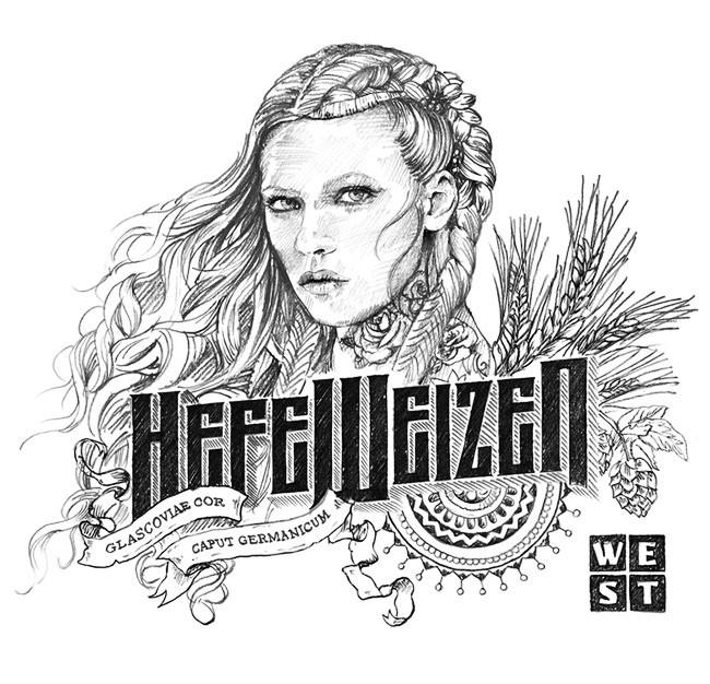国外Heidi Weisse小麦啤酒精美包装设计作品