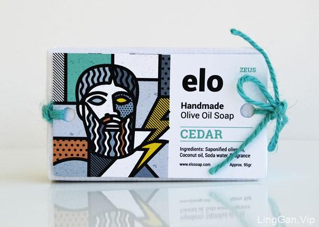 国外Elo香皂希腊众神版包装设计作品欣赏