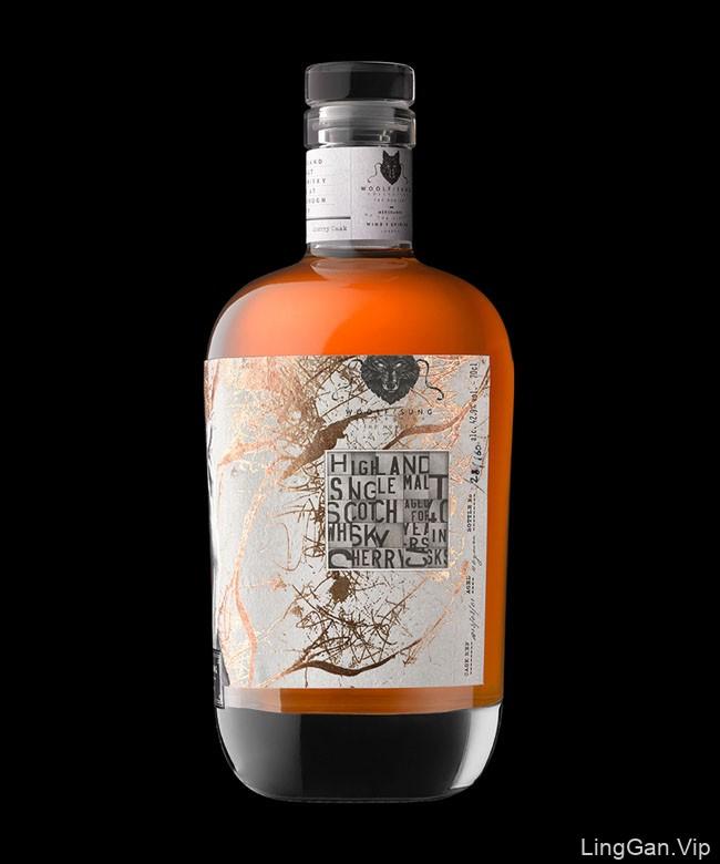 国外Woolf Sung威士忌包装设计作品欣赏