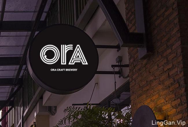国外精美的ORA啤酒包装设计欣赏