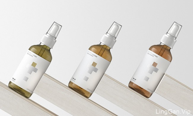 简约大方的Healtheorem护肤品包装设计作品