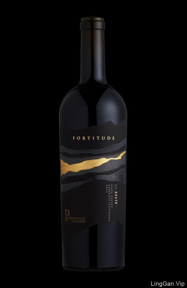 国外Fortitude红酒创意瓶贴设计欣赏