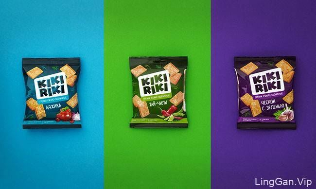 KIKIRIKI膨化零食软包装设计作品