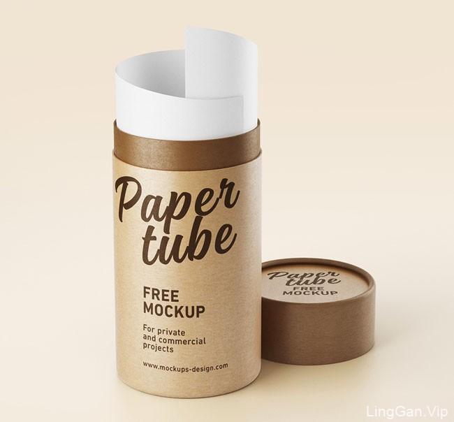一组化妆品包装模版设计