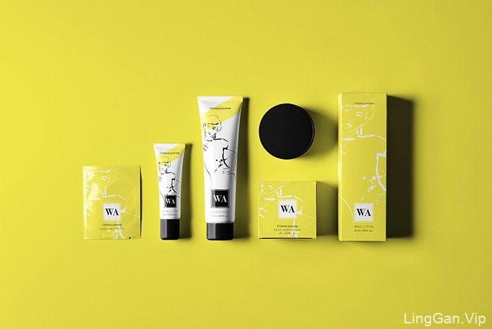 国外优秀WA化妆品时尚包装设计