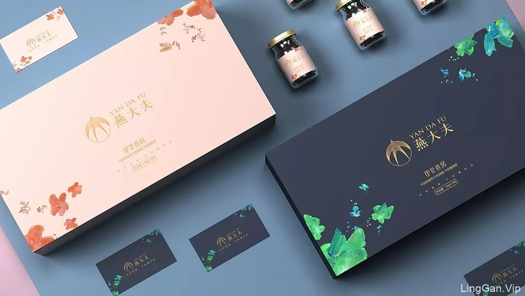 即食燕窝包装设计 燕窝饮品包装设计 燕窝礼盒包装设计