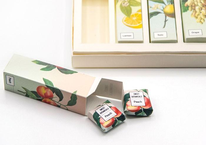 Sweet Botanicals植物糖果包装设计