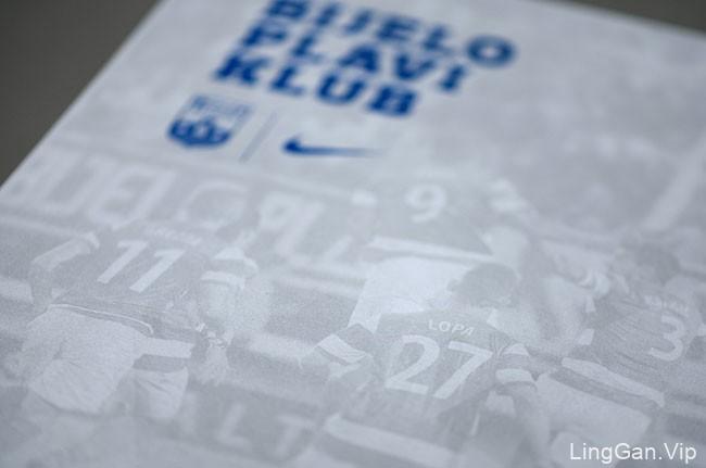 Nk Osijek足球俱乐部耐克球衣包装设计