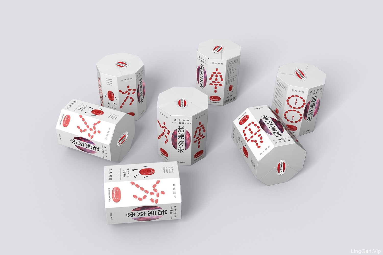 农副产品—若羌红枣包装设计-厚启设计,西安包装设计公司
