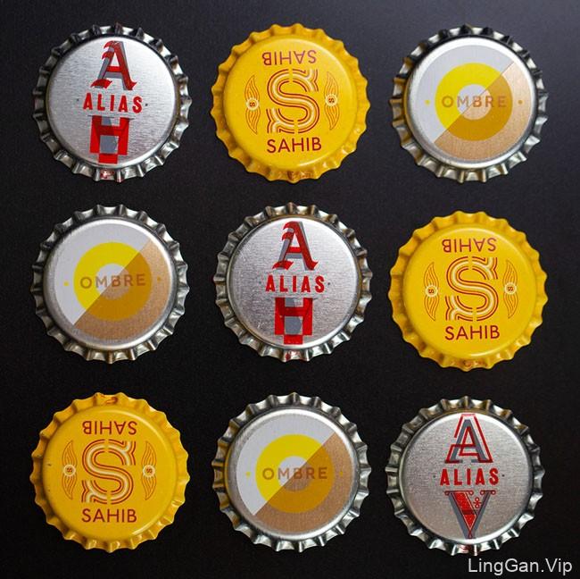 Winslow Brew啤酒包装设计