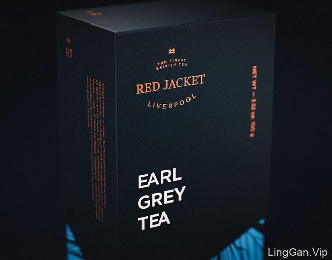 俄罗斯Red Jacket茶包装设计重塑