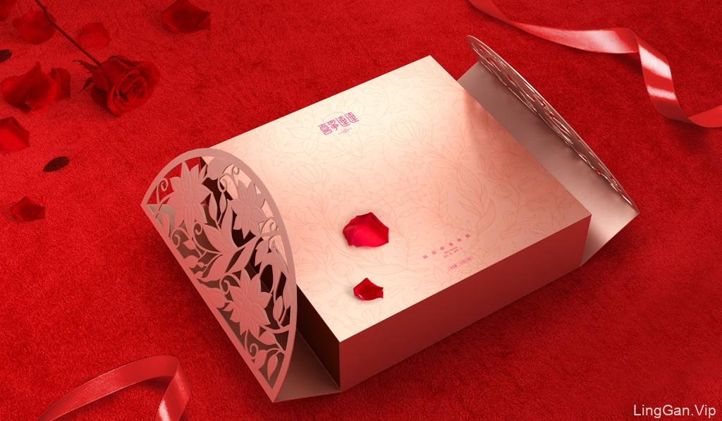 婚庆燕窝包装设计 即食燕窝包装设计 燕窝礼品盒包装设计