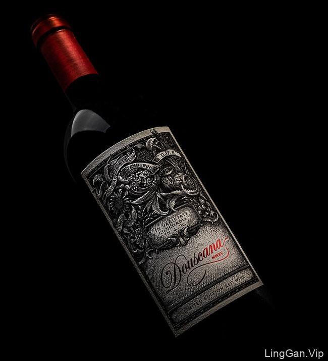 Douscana葡萄酒包装设计