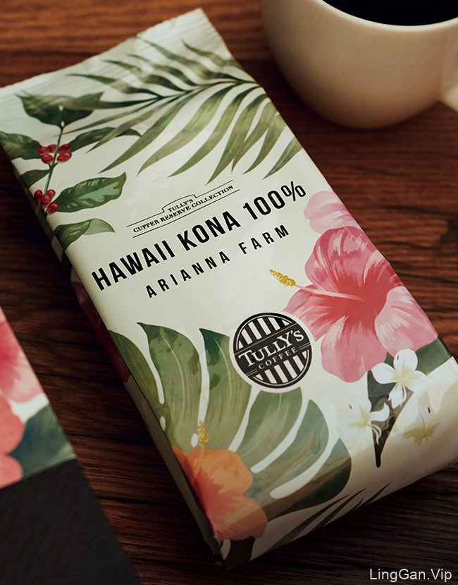 日本TULLY''S COFFEE咖啡包装设计
