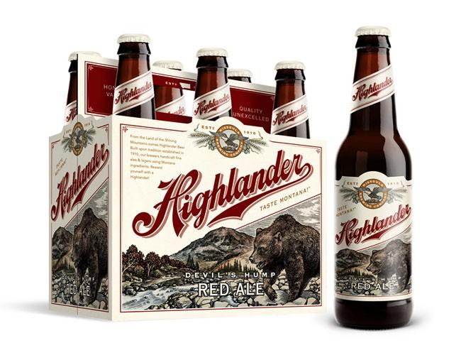 Highlander啤酒包装设计