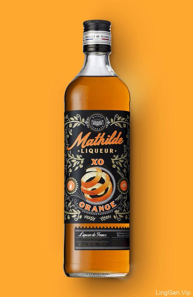 MATHILDE利口酒瓶贴设计
