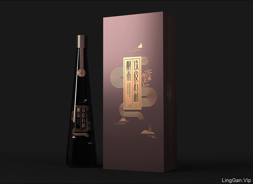 铁皮石斛包装设计 酵素饮料包装设计 保健饮品包装设计