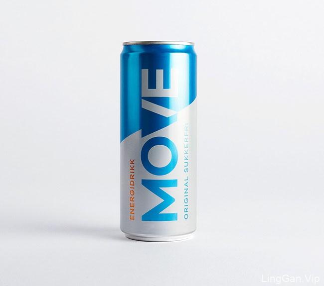 Move能量饮料易拉罐包装设计欣赏