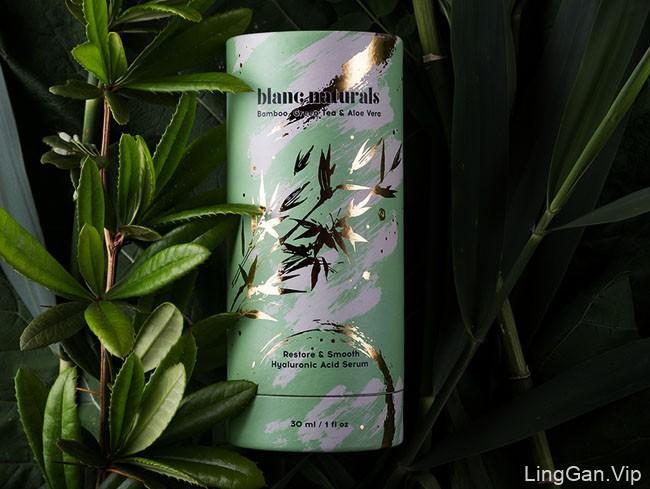 Blanc Naturals女性护肤品包装设计