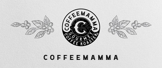 CoffeeMamma冷咖啡标签设计