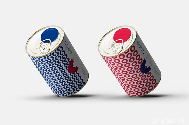 COCO有机罐头食品包装设计作品