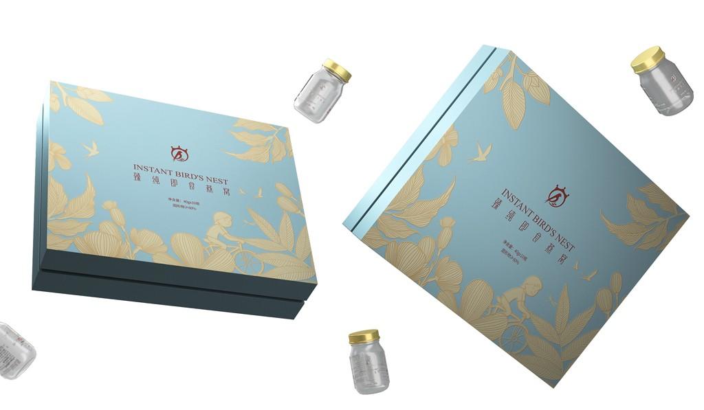 燕窝包装设计 即食燕窝包装设计 滋补保健品包装设计