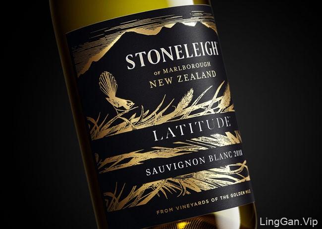 Stoneleigh葡萄酒瓶贴设计