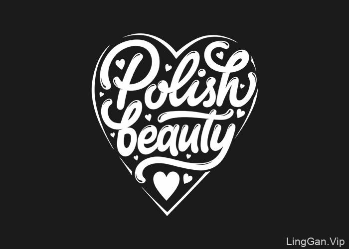 Max Bris漂亮的英文手绘字体作品