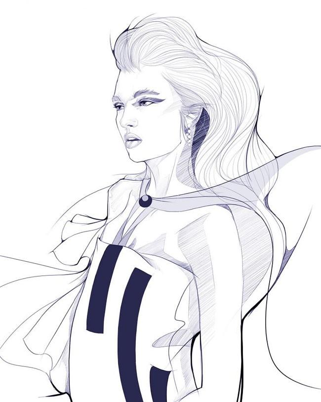 Evens Joseph概念艺术人物插画设计作品