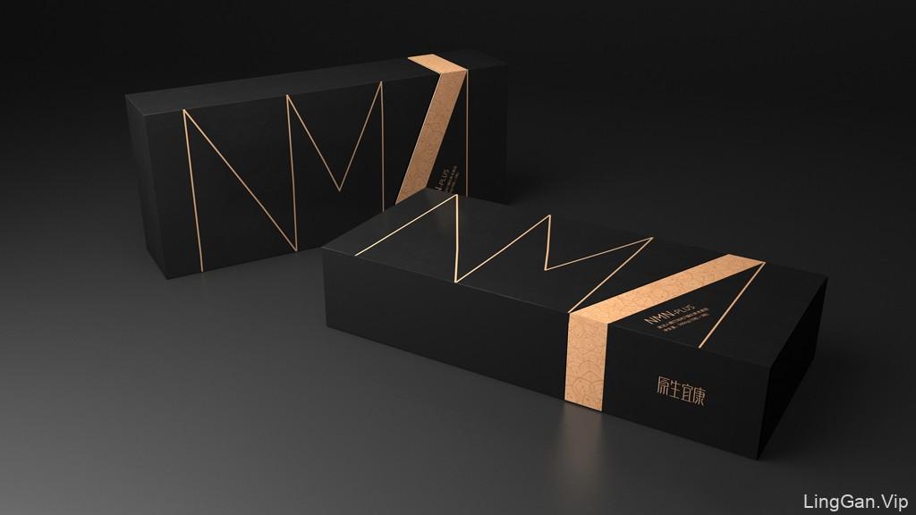 抗衰老基因包装设计 美容养颜包装设计 功能性保健品包装设计