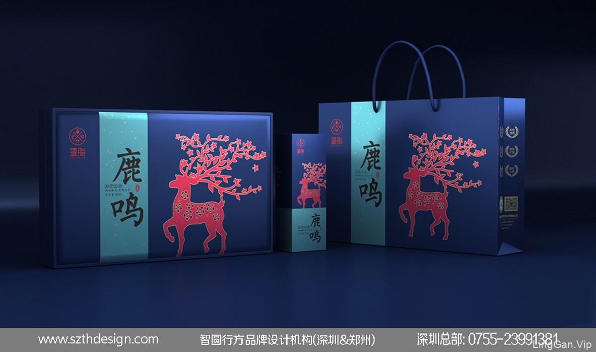 大米礼盒包装设计 高端大米包装设计 大米包装设计公司