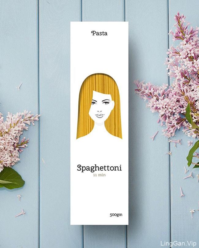 Pasta意大利面创意包装设计