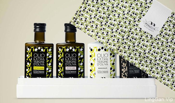 漂亮的Essenza Apulian初榨橄榄油包装设计