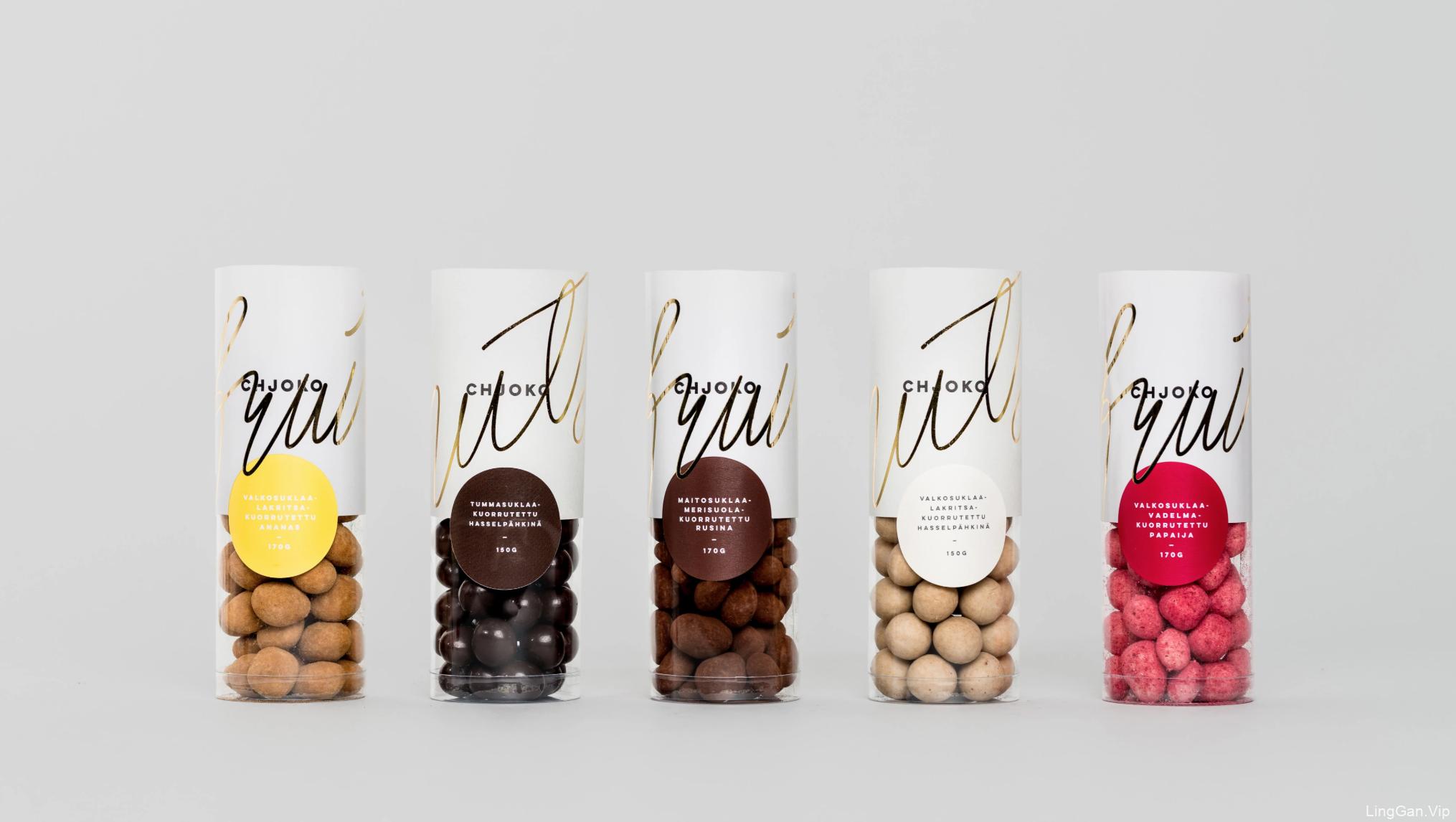 手工巧克力店Chjoko品牌和包装设计