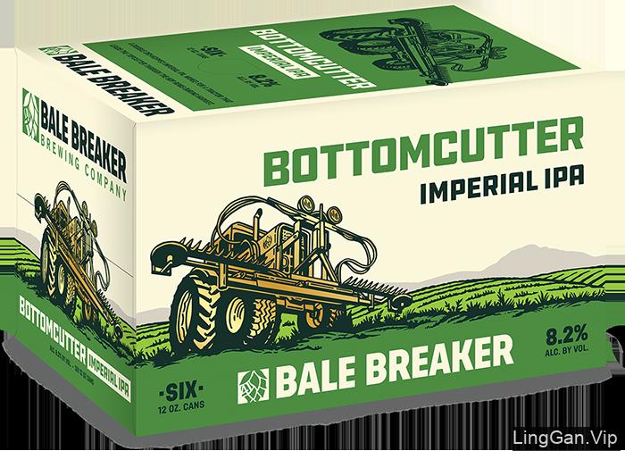 美国Bale Breaker啤酒包装设计