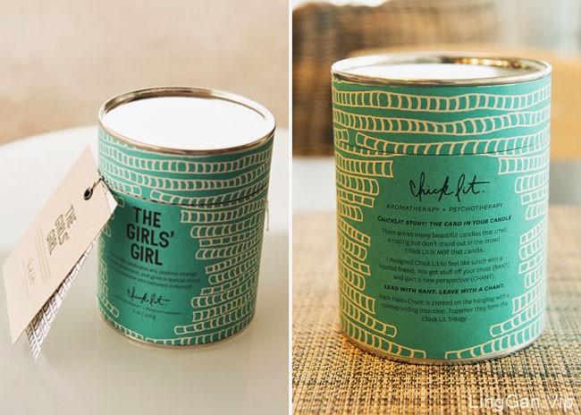 精美的Chick Lit蜡烛包装设计