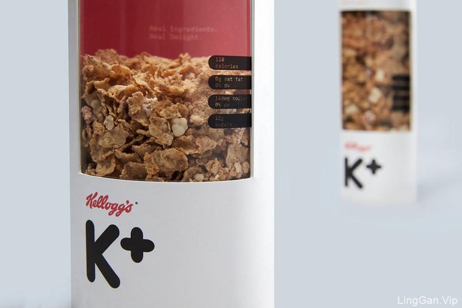 Kellog''s麦片包装设计