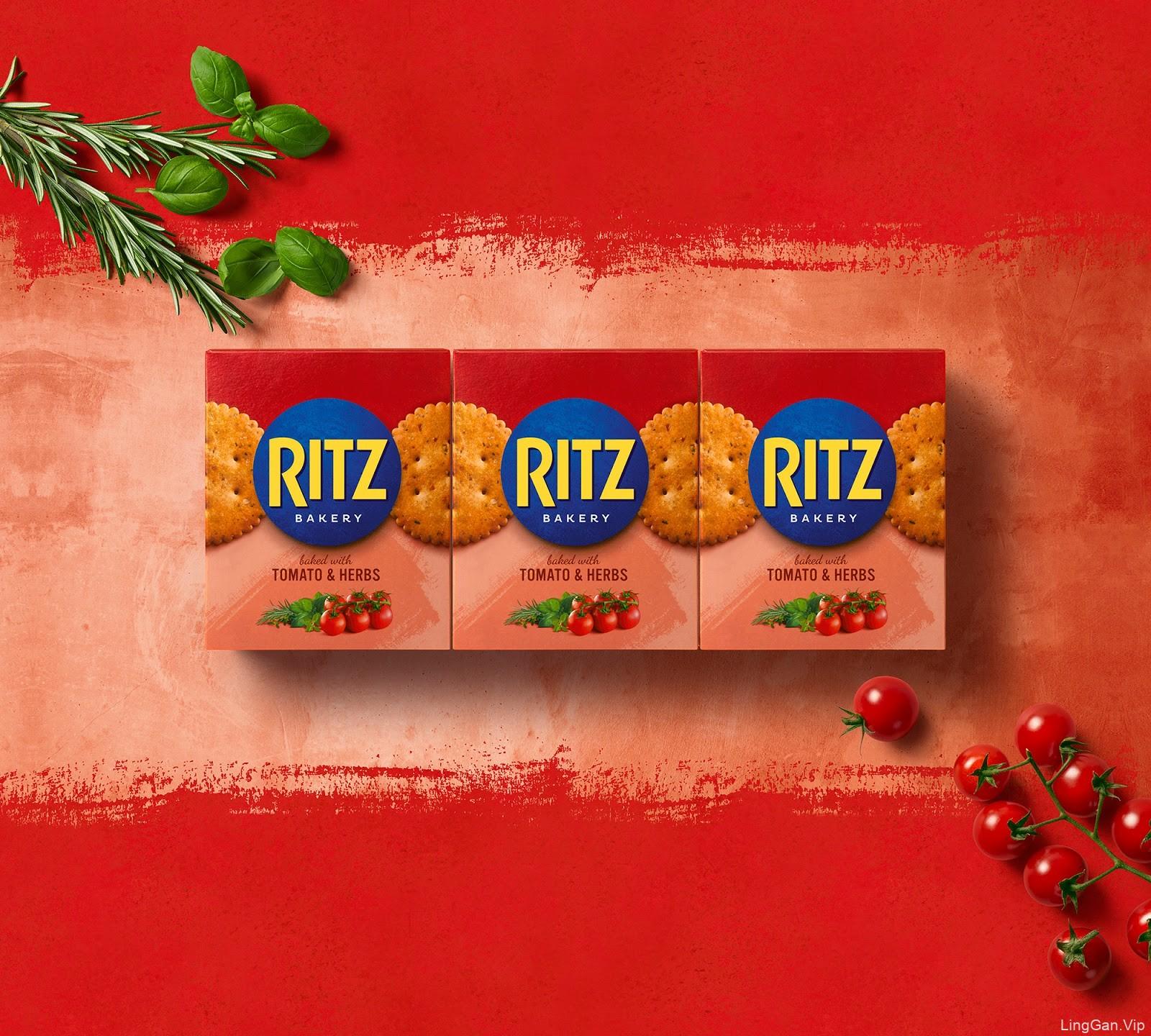 Ritz饼干包装设计