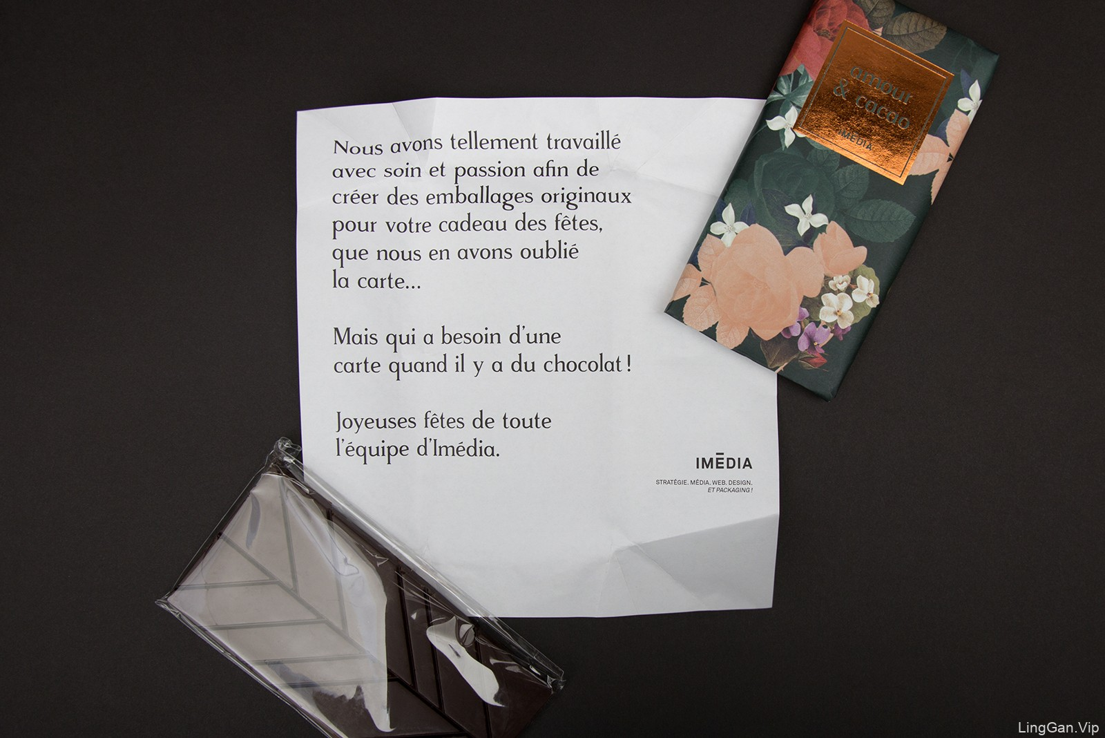高雅的插画:Amour and Cacao巧克力包装