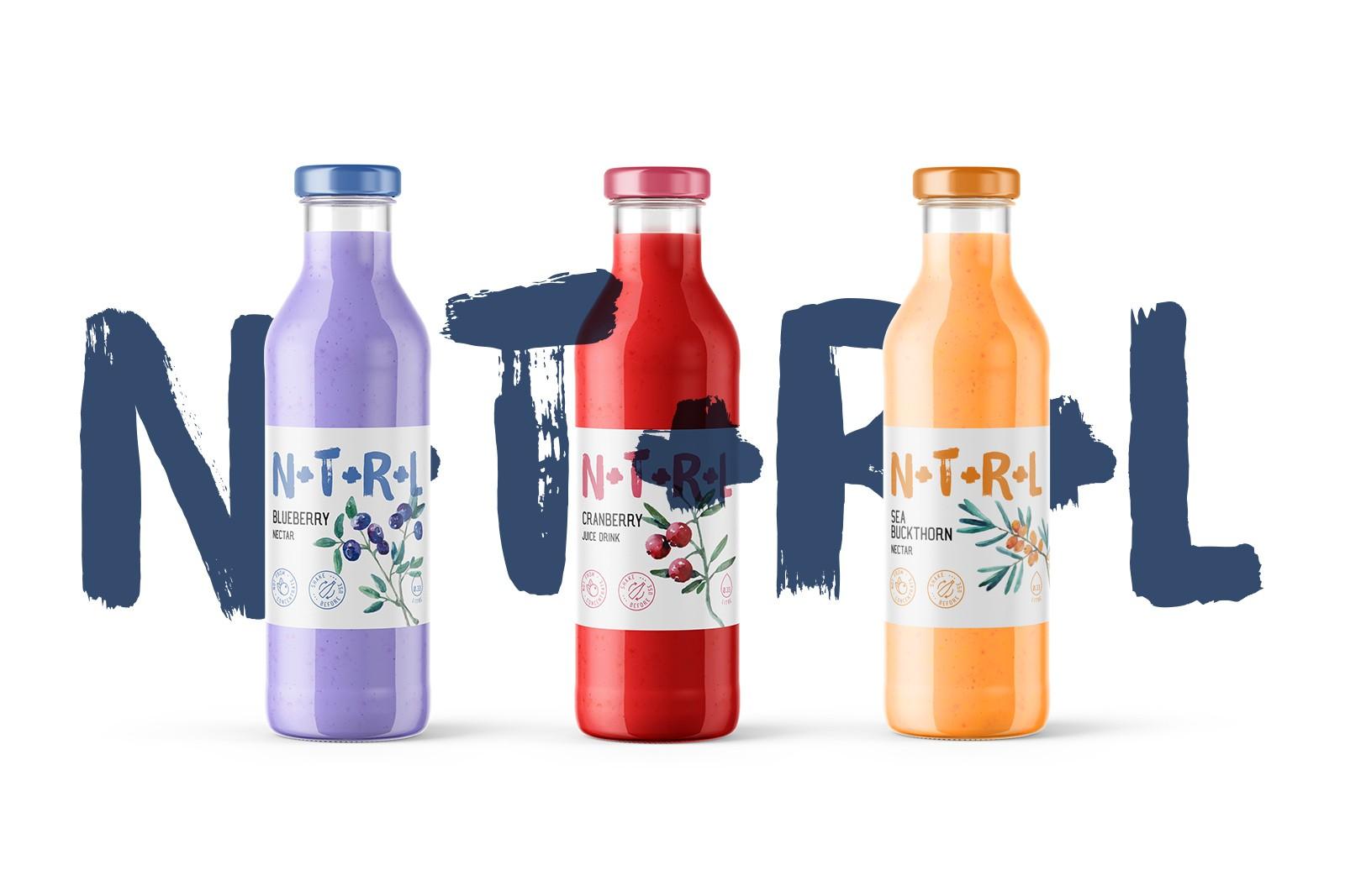 N+T+R+L果汁饮料包装设计